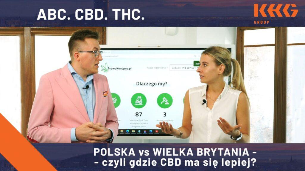 CBD w Anglii i w Polsce!